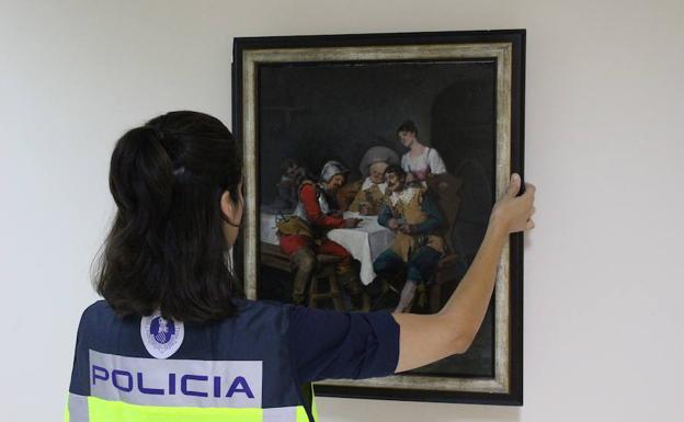 La polic a de la generalitat detiene a un galerista de - Galerista de arte ...