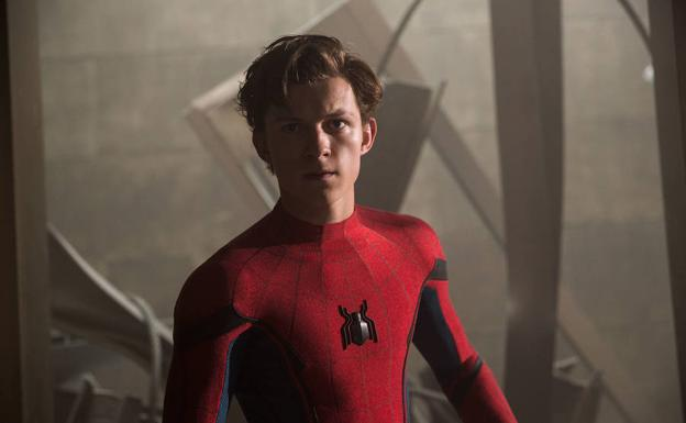 "Tom Holland en la película ""SpiderMan: Homecoming""./EFE"
