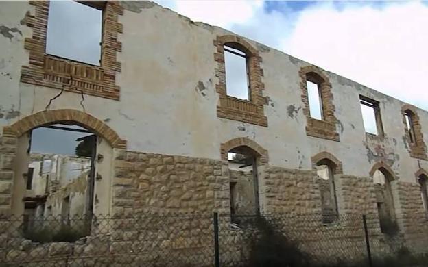 El sanatorio abandonado en Torremanzanas