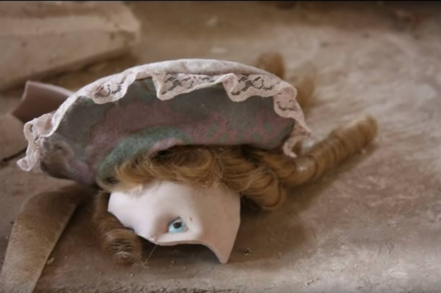 La fábrica de muñecas de porcelana abandonada
