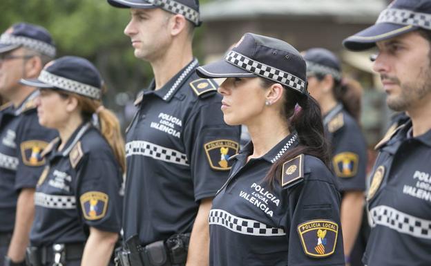 Fiscalia investiga otro grupo de wassahp de policías locales de Valencia