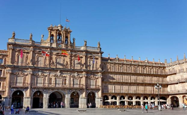Plaza Mayor de Salamanca./Efe