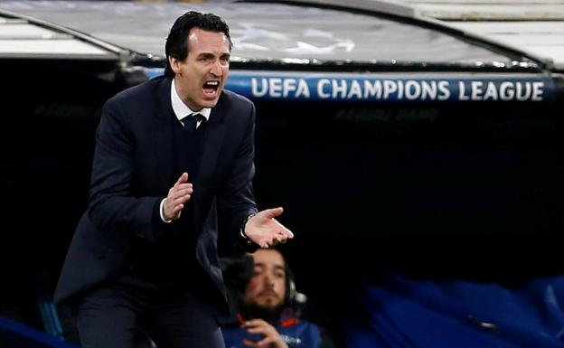 Unai Emery./Reuters