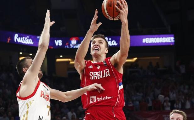 Bogdanovic decide que Serbia jugará la final