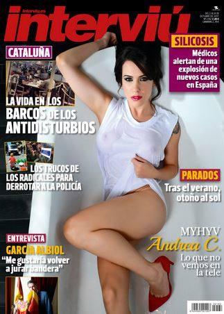 Andrea C Myhyv Pretendienta De Iván Se Desnuda En Interviú
