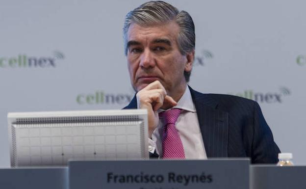 El presidente de Cellnex Telecom, Francisco Reynés./Efe