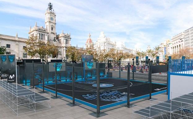 Movistar Street Basket Tour El Baloncesto Callejero Toma Hoy La