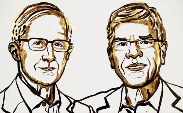 William Nordhaus y Paul Romer./
