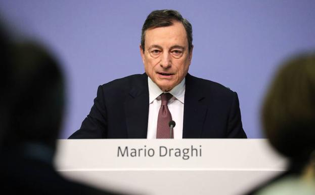 El presidente del Banco Central Europeo (BCE) , Mario Draghi./Efe