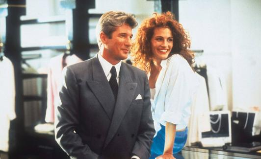 Los actores de 'Pretty Woman', Richasrd Gere y Julia Roberts./Archivo