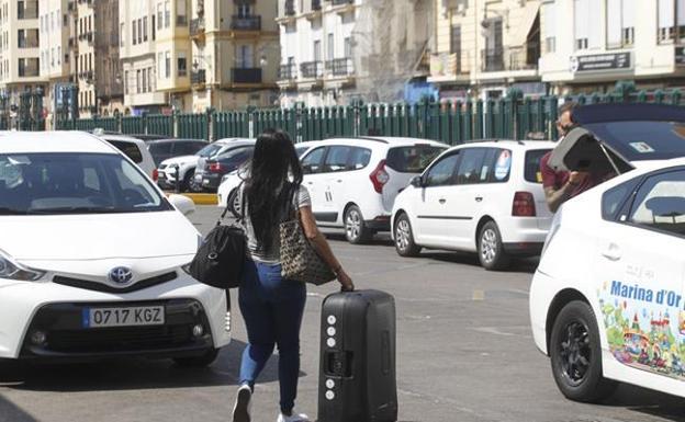 Taxis en Valencia./M. Molines