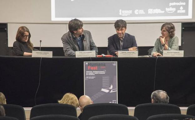 Presentación de la nueva edición del Humans Fest, cargada de cine y reflexión./AMALIA YUSTA