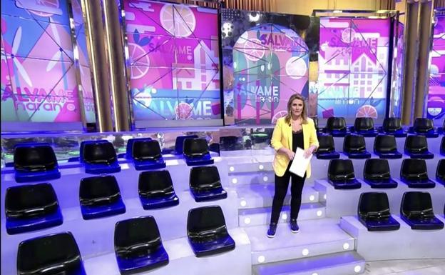 Televisión sin público: 'Sálvame', 'El programa de Ana Rosa' y 'Espejo Público', a puerta cerrada por el coronavirus