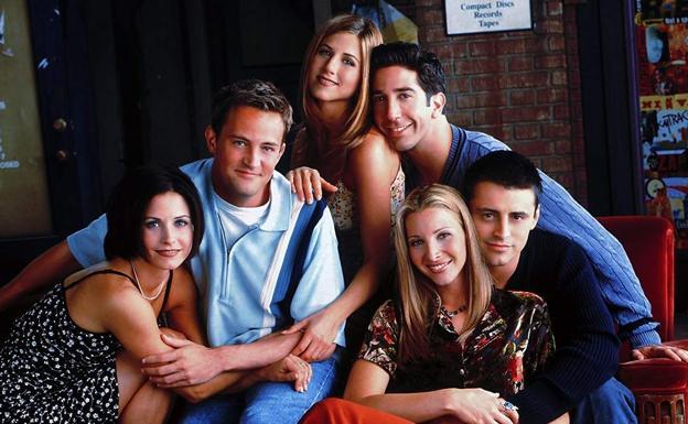 Los protagonistas de 'Friends'.