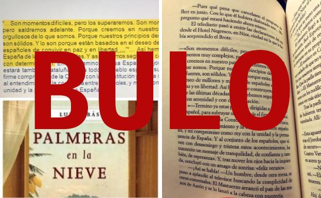 El verificador: No, el Rey no ha plagiado la novela 'Palmeras en la nieve'