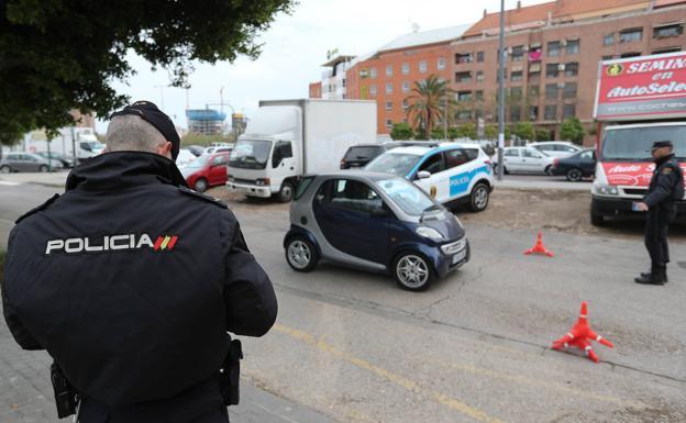 Tres valencianos, ante el juez por incumplir el estado de alarma
