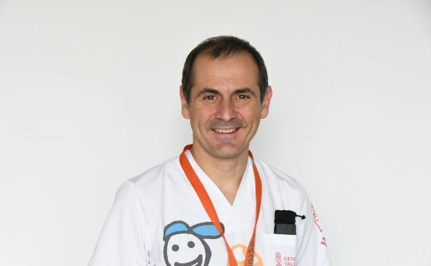 Josep Mut, jefe del Servicio de Pediatría del Departamento de Salud de Dénia.