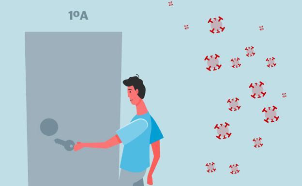 ¿Cómo evitar el contagio en casa?