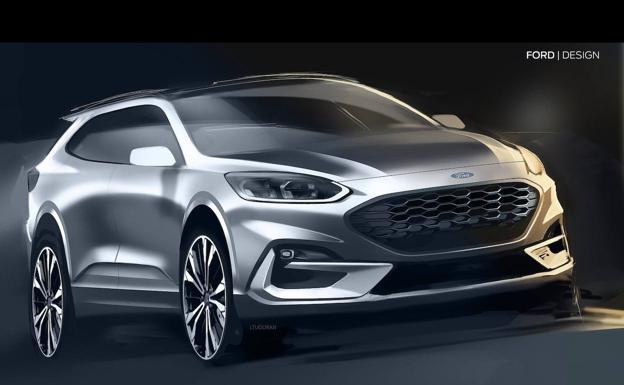 Ford prepara un familiar campero estilo 'Active' para sustituir al Mondeo.