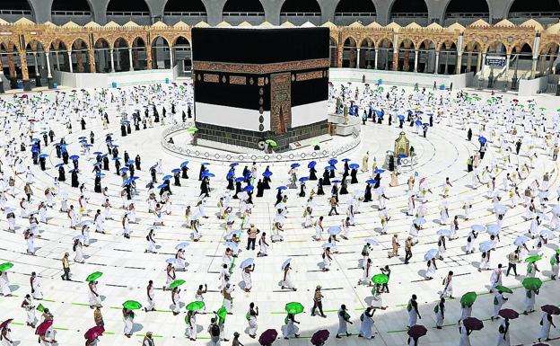 Peregrinación a La Meca de este año.