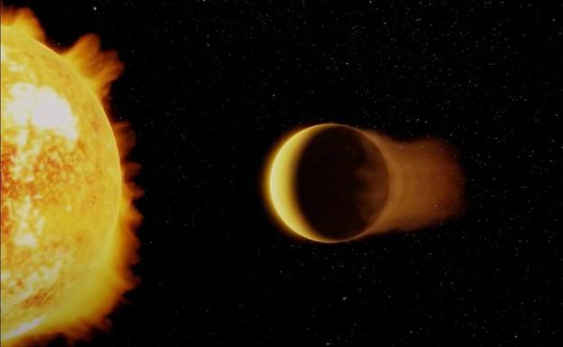Descubren el planeta 'Neptuno ultra caliente', una «bestia rara» que supera los 1.700 grados