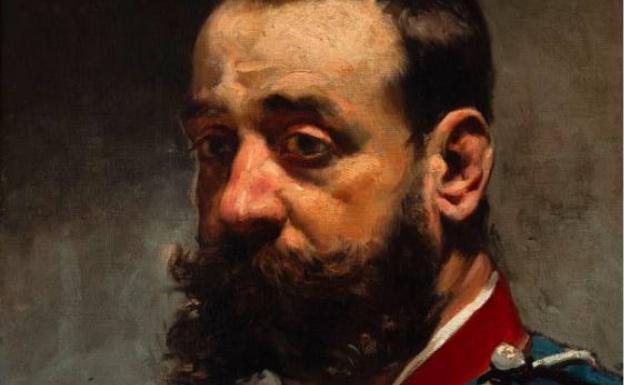 El retrato de un hombre con uniforme se vendió por 36.000 euros.