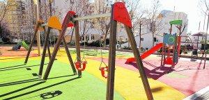 Tres Nuevas Zonas De Juego En Parques Infantiles Las Provincias